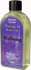 Aromatherapy Wellbeing Massage & Bath Oil 100ml with Ylang Ylang & May Chang