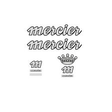 Mercier 1980s Bicycle Frame Stickers - Decals - Transfers n.20