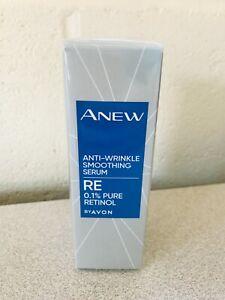 AVON ANEW Anti-Wrinkle Smoothing Serum Serum NEW Retinol (RRP £25)