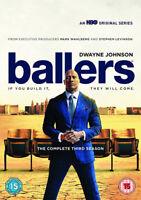 Ballers: The Complete Third Season DVD (2017) Dwayne Johnson cert 15 ***NEW***