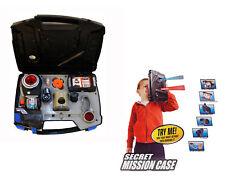 Escuadrón de espía misión secreta caso niños Gadgets Inc Laser Disc lanzador Cámara de Juguete 5+
