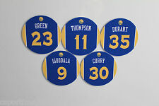 Golden State Warriors Jersey Magnets set: Curry Thompson Durant Green Iguodala