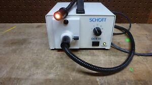 Schott 20800, DCRIII EKE Optical Light Source *tested working unit*