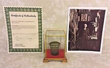 Antique Abraham Lincoln Medicine Cup from Herbert Fay Collection of Lincolniana