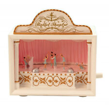 "6.25"" Ballet Ballerina Musical Theatre Music Box Plays Swan Lake # 52020"