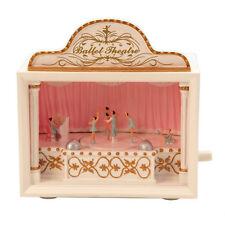 "6.25"" Ballet Ballerina Musical Theatre Music Box Plays Swan Lake # 52020"