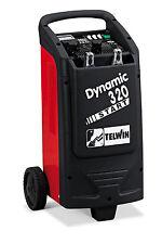 Caricabatterie avviatore starter carrellato TELWIN dynamic 320 230V 12-24V