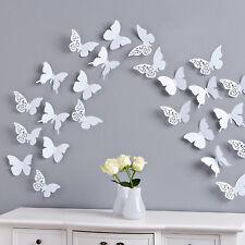 Deko-Wandtattoos & -Wandbilder mit 3D-Schmetterling-Motiv ...