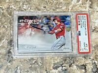 2019 Topps Stadium Club Power Zone Mike Trout #PZ-2 PSA 10 GEM MINT LA Angels
