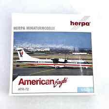 American Eagle ATR-72 Herpa 1:500 Airplane Diecast Model  513203