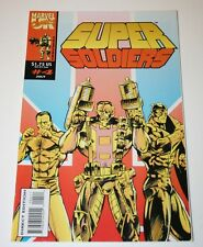Super Soldiers Marvel Comics Issue #4, July 1993