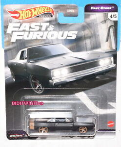 HOT WHEELS 2021 FAST & FURIOUS FAST STARS CASE L DODGE CHARGER #4/5
