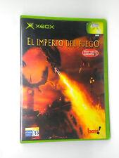 EL IMPERIO DEL FUEGO  XBOX