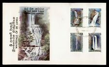 DR WHO 1989 SRI LANKA WATERFALLS FDC C166069