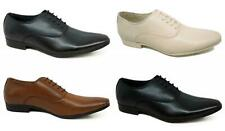 Mens Casual Italian Leather Smart Formal Lace Up Shoes UK SIZE 5 6 7 8 9 10 11