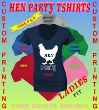 No Pattern Short Sleeve V Neck T-Shirts for Women