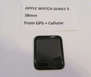 Apple Watch Series 3, Genuine 38mm Screen, From GPS and Cellular Watch, #AW02