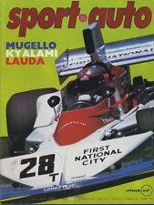 SPORT AUTO n°171 AVRIL 1976 avec encart 6H MUGELLO GP AFS RALLYE PORTU