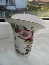 ovale Hutschenreuther Blumenvase  von Ole Winkler 18,5 cm hoch