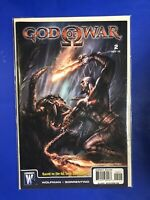 GOD OF WAR 2 DC WildStorm Comic 2nd Appeaeance Kratos Wolfman Sorrentino NM 2010