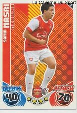 011 SAMIR NASRI # FRANCE ARSENAL.FC OM MARSEILLE CARD PREMIER LEAGUE 2011 TOPPS
