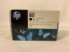 HP 80 Black 350ml Ink Cartridge Expired Nov. 2016 C4871A 088698629154 DesignJet