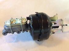 """1960-66 Chevy C10 C20 9"""" dual brake booster 1 1/8"""" bore master cylinder"""