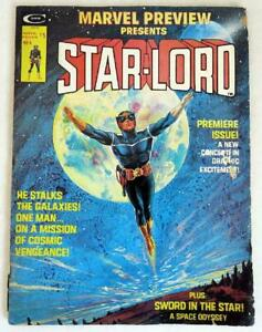 Marvel Preview Presents STAR-LORD Vol. 1 No. 4 - Jan 1976 1st Appearance GOTG