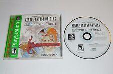 Final Fantasy Origins (Sony PlayStation 1) PS1 GH COMPLETE