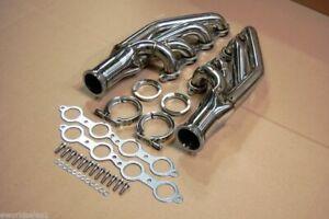 LS Turbo Headers LS1, LS2, LS3, LS6, LSX Forward Facing Vband Swap FOR Chevy V8