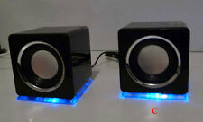 Soytich Multimedia Speaker. Design USB Loudspeaker Lautsprecher black. (DS)