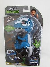 Fingerlings Untamed T-Rex IRONJAW Blue-Interactive Collectible WowWee NEW