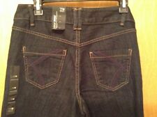 NWT Lane Bryant DISTINCTLY BOOT JEANS 14 Average Right Fit Technology Dark Wash