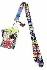 **License** Ouran High School Host Club Characters Badge ID Holder Lanyard#37665