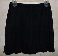 EXCELLENT WOMENS FASHION BUG DRESSY BLACK KNIT SKORT  SIZE S