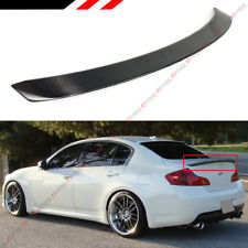 07-13 UNPAINTED for INFINITI G25 G35 G37 Q40 4Dr EXTREME ROOF SPOILER