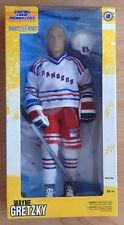 1998  WAYNE GRETZKY NHL N Y RANGERS HOCKEY FIGURE STARTING LINEUP 13 INCH