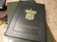"Original 1998 U.S. Army War College Yearbook ""The Torch"" USAWC Class 1998 #K"