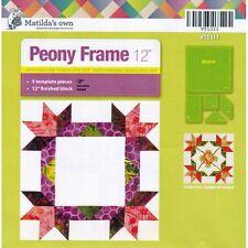 Matilda's Own Peony Frame Patchwork Template Set