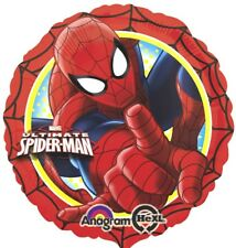 Spiderman  Folienballon rund 45cm Ballon Luftballon Geburtstag Helium Party