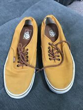 VANS AUTHENTIC  MUSTARD YELLOW SIZE UK 12