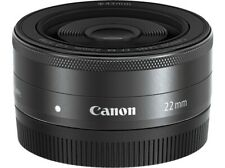 Canon EF-M 22 mm F/2.0 STM Objektiv Originalverpackt Top Zustand