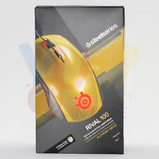 SteelSeries Rival 100, Optical Gaming Mouse | Alchemy Gold