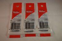 3 x Original Weller ETB Solder Soldering Tip fits StationsWES51,PES50&51,WESD51D