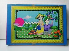 "Danish puzzle by the artist Bjorn Wiinblad. 1980's.500 pieces.""Summer"" SOMMER."