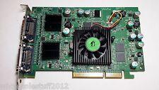 Matrox QID-QDA8X128F AGP 4x/8x 1dms-59 not dvi quad display Adapter video card