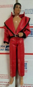 1984 Original Michael Jackson Thriller Doll With Coat and Pants