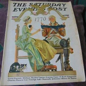 The Saturday Evening Post 07/04/1931/J.C. Leyendecker/Tony Sarg/Planters Peanuts