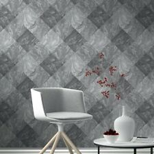 RASCH Marble Tile Pattern Wallpaper 282504