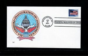 2021 Inauguration Day Cover - Only 10 covers were made